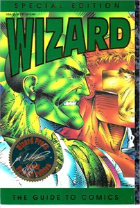 Rob Liefeld autographed 1992 Comic-Con Special Edition Wizard magazine