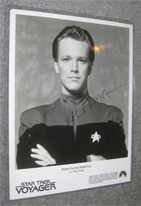 Robert McNeill autographed Star Trek Voyager 8x10 photo