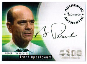 Robert Picardo 4400 certified autograph card