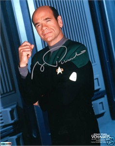 Robert Picardo autographed Star Trek Voyager 8x10 photo