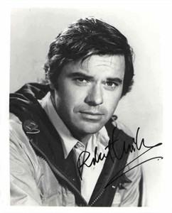 Robert Urich autographed 8x10 black & white photo