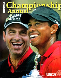 Rocco Mediate autographed 2008 U.S. Open USGA Championship Annual magazine