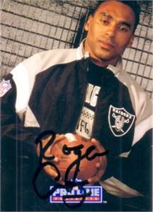 Roger Craig autographed Raiders 1991 Pro Line card