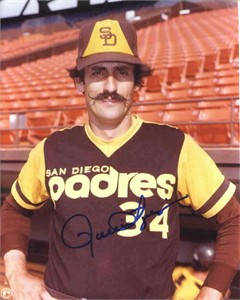 Rollie Fingers autographed San Diego Padres 8x10 photo