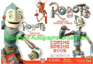 Robots movie 2004 Comic-Con promo card R-SD-2004