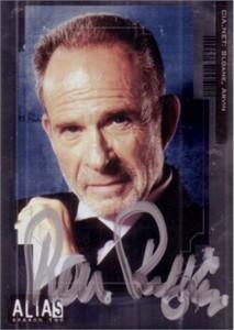 Ron Rifkin autographed 2003 Alias Arvin Sloane card