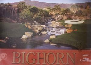 Rosie Jones autographed Bighorn LPGA Samsung World Championship poster