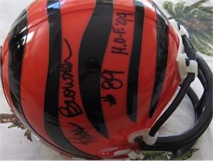 Ross Browner autographed Cincinnati Bengals mini helmet