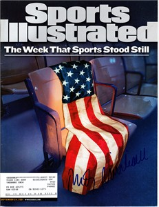 Rudy Giuliani autographed 2001 Sports Illustrated (The Week That Sports Stood Still)