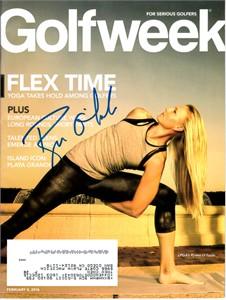 Ryann O'Toole autographed 2016 Golfweek magazine
