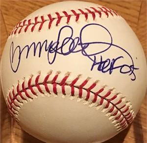 Ryne Sandberg autographed MLB baseball inscribed HOF 05