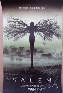 Salem autographed 2014 Wondercon poster (Shane West Xander Berkeley)