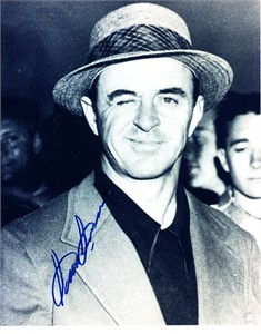 Sam Snead autographed 8x10 golf photo