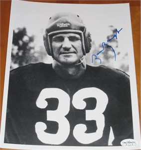 Sammy Baugh autographed 8x10 photo (JSA)