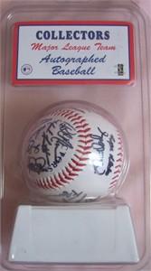 2003 San Diego Padres team facsimile autographed baseball