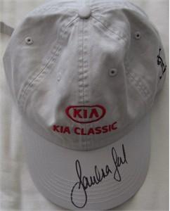 Sandra Gal autographed LPGA Kia Classic golf cap or hat