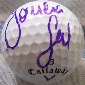Sandra Gal autographed 2012 LPGA Kia Classic tournament used Callaway golf ball