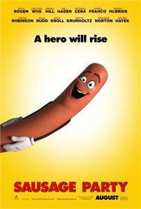 Sausage Party 2016 mini 11x17 movie poster