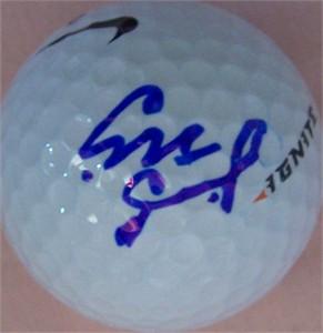 Sakura Yokomine autographed golf ball