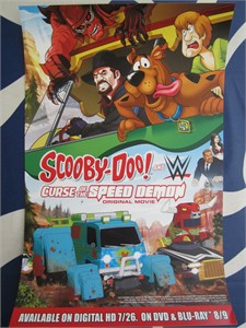 Scooby-Doo Curse of the Speed Demon 2016 Comic-Con 10x16 mini movie poster