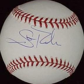 Scott Rolen autographed Rawlings MLB baseball