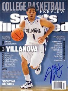 Scottie Reynolds autographed Villanova Wildcats 2009 Sports Illustrated