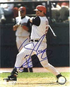 Sean Casey autographed Cincinnati Reds 8x10 photo