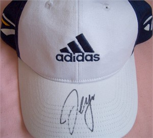 Sergio Garcia autographed Adidas TaylorMade personal model golf cap or hat