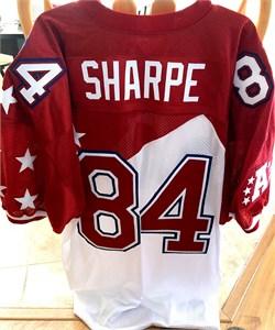 Shannon Sharpe Denver Broncos authentic Reebok game model jersey