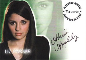 Shiri Appleby Roswell certified autograph card