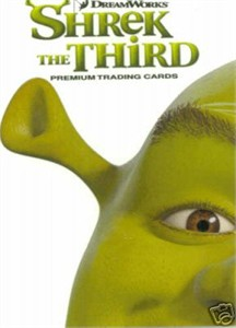 Shrek the Third 2006 Comic-Con Inkworks promo card S3-SD2006