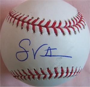 Shane Victorino autographed MLB baseball