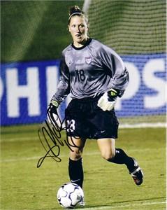 Siri Mullinix autographed US Soccer 8x10 photo