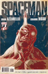 Spaceman 2011 comic book issue #1 (Vertigo)