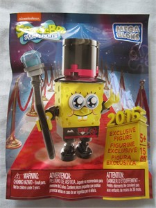 SpongeBob SquarePants Mega Bloks 2015 Comic-Con exclusive toy NEW