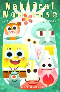 SpongeBob SquarePants Nautical Nonsense 2013 promo card