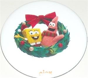 Spongebob SquarePants Patrick Star Christmas 2012 Comic-Con Nickelodeon promo button or pin