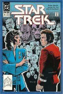 Star Trek DC 1990 comic book issue #6