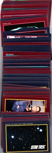 1991 Star Trek 25th Anniversary Series 1 partial card set (Impel)