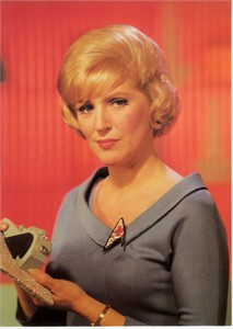 Star Trek Original Series Nurse Chapel 5x7 photo card