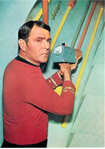 Star Trek Original Series Scotty 5x7 photo card