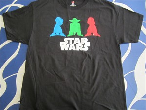 Star Wars 2016 Comic-Con Disney-Lucasfilm Press promo T-shirt NEW