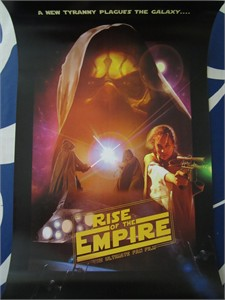Star Wars Rise of the Empire fan film 11x17 inch promotional movie poster MINT