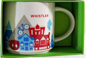 Starbucks 2013 You Are Here Collection Whistler 14 ounce collector coffee mug NEW