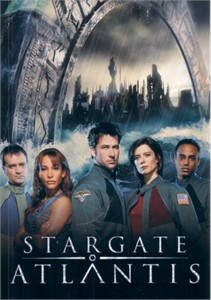 Stargate Atlantis 2005 4x6 promo card