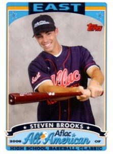 Steven Brooks 2006 AFLAC Topps Rookie Card