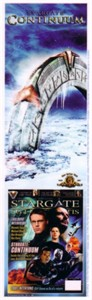 Stargate Continuum 2008 Comic Con promo bookmark