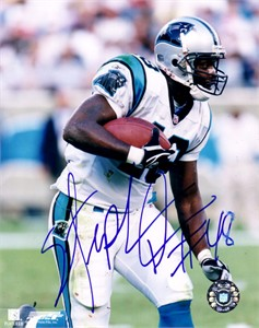 Stephen Davis autographed Carolina Panthers 8x10 photo