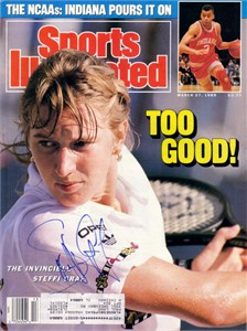 Steffi Graf autographed 1989 Sports Illustrated