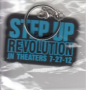 Step Up Revolution 2012 movie promotional keychain